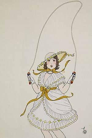 Costumes parisiens. Costume d'une Demoiselle de 6: VALLEE Armand