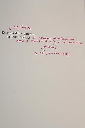 Encres à deux pinceaux et leurs poèmes: ALECHINSKY Pierre &