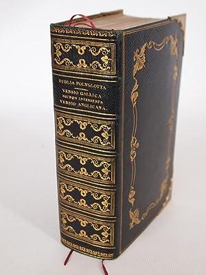 La sainte Bible qui contient le vieux: ANONYME]