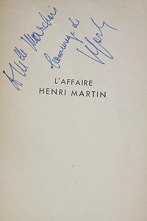L'affaire Henri Martin: SARTRE Jean-Paul &