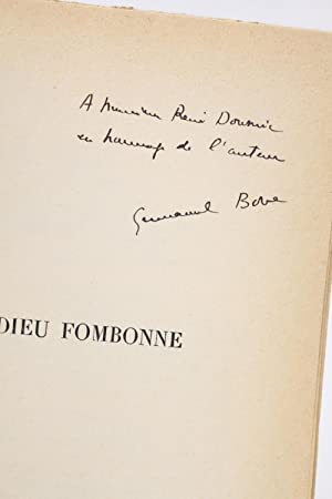 Adieu Fombonne: BOVE Emmanuel
