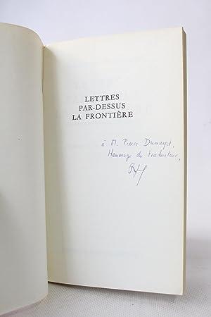 Lettres par-dessus la frontière: GRASS Günter &