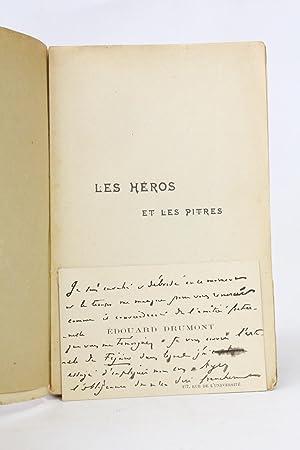 Les héros et les pitres: DRUMONT Edouard METIVET