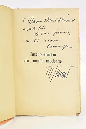 Interprétation du monde moderne