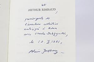 Arthur Rimbaud Signed Abebooks