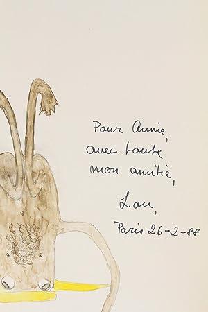 L'histoire et le fantastique burlesque de Lou: GAUDIBERT Pierre