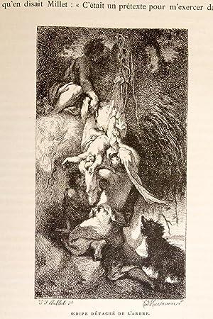 La vie et l'oeuvre de J.F. Millet: SENSIER Alfred