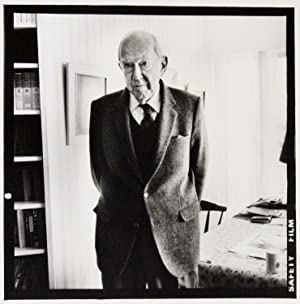 Portrait de Graham Greene. Photographie Originale de l'artiste