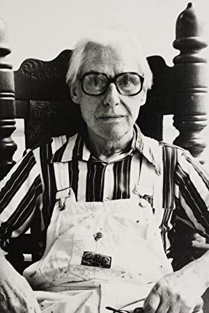 Portrait de Willem De Kooning. Photographie Originale: DE KOONING Willem)