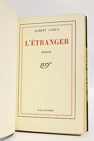 L'Etranger: CAMUS Albert