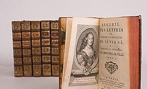 Recueil des lettres de Madame la marquise: SEVIGNE Marie de