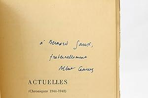 Actuelles. Chroniques 1944-1948: CAMUS Albert