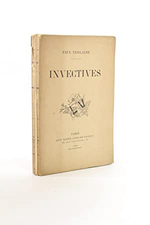 Invectives: VERLAINE Paul