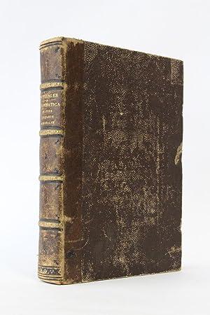Grammatica, quatuor linguarum hebraicae, chaldaicae, syriacae et: HOTTINGER Johann Heinrich