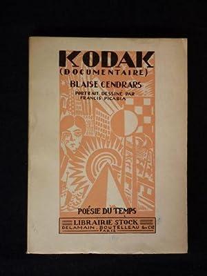 Kodak: CENDRARS Blaise