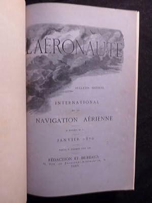 L'Aéronaute. Bulletin mensuel illustré de la navigation: HUREAU DE VILLENEUVE