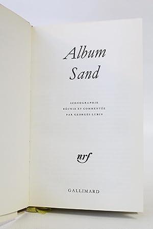 Album Sand: SAND George) LUBIN