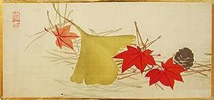 Recueil de 22 peintures sur soie: KÔKYÔ Tanigushi