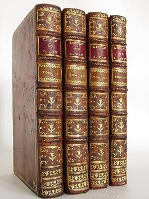 Siècle de Louis XIV. Nouvelle édition, revue: VOLTAIRE