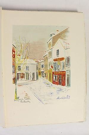 Montmartre vécu par Utrillo: CARCO Francis UTRILLO