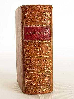 Apophthegmatum ex optimis utriusque linguae scriptorib. per: ERASME