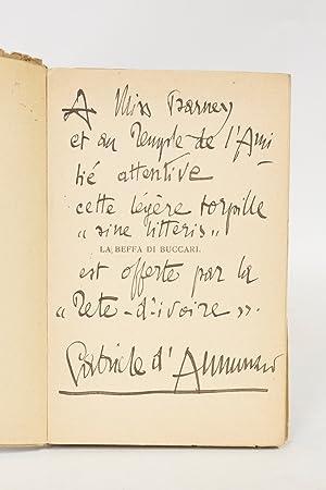 La beffa di buccari: ANNUNZIO Gabriele d'
