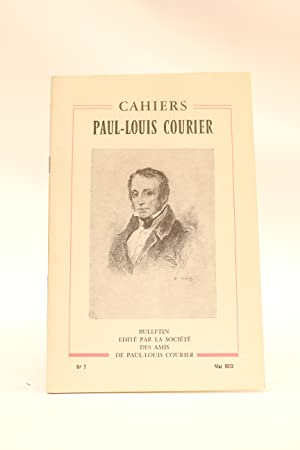 Cahiers Paul-Louis Courier N°7