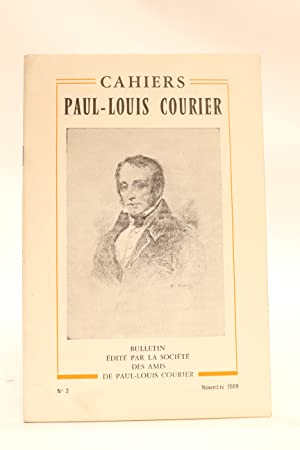 Cahiers Paul-Louis Courier N°2