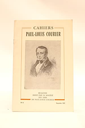 Cahiers Paul-Louis Courier N°8