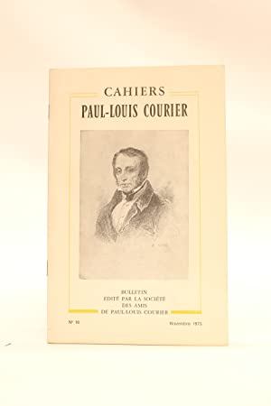 Cahiers Paul-Louis Courier N°10