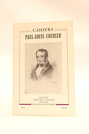 Cahiers Paul-Louis Courier N°5