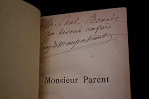 Monsieur Parent: MAUPASSANT Guy de