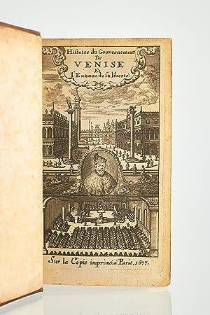 Histoire du gouvernement de Venise, avec le: AMELOT DE LA