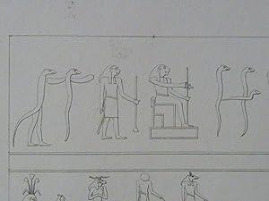 DESCRIPTION DE L'EGYPTE. Environs d'Esné (Latopolis). Zodiaque: JOLLOIS Jean-Baptiste Prosper