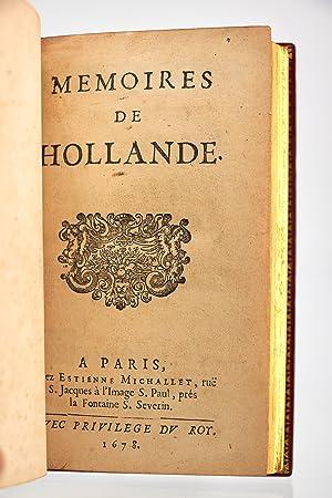 Memoires de Hollande: LA FAYETTE Madame