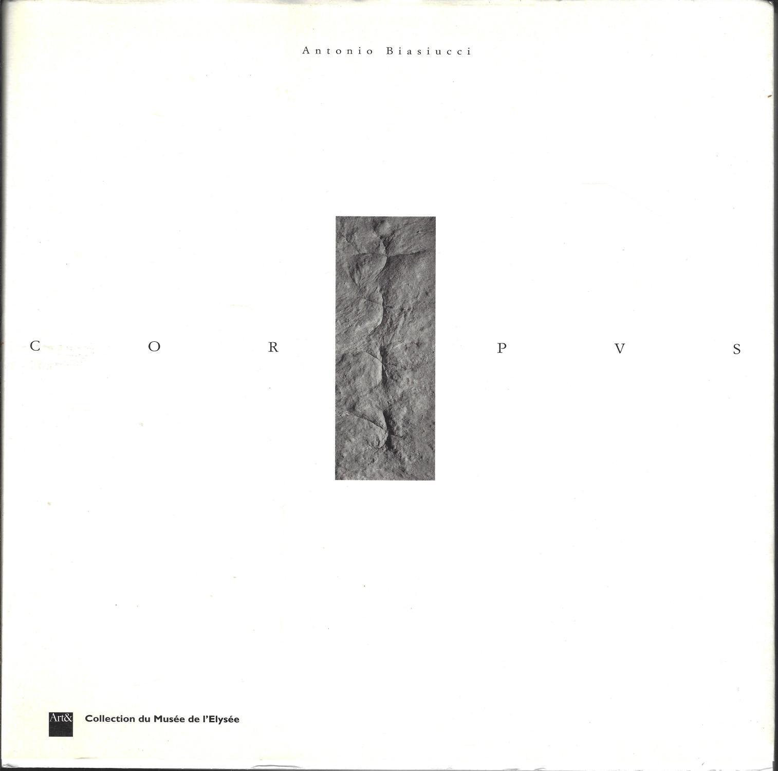 Corpus (Fotografia e ricerca) (tre-lingue Edition) - Antonio Biasiucci