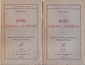 Rome Naples et florence I et II: Stendhal