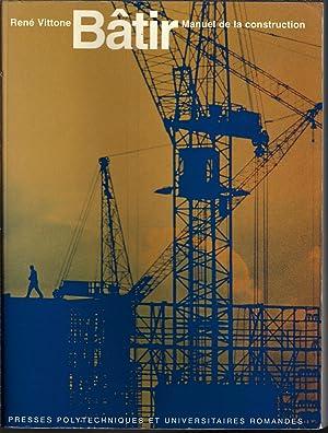 batir manuel de la construction abebooks