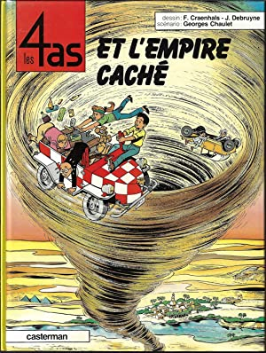 Les 4 as et l'empire caché, album 28