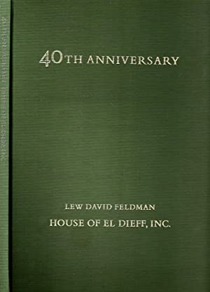 1975 FORTIETH ANNIVERSARY CATALOGUE CONTAINING FORTY SELECTIONS: Feldman, Lew David.