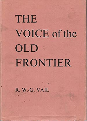 THE VOICE OF THE OLD FRONTIER.