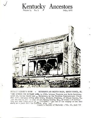 fitzgerald anne - kentucky ancestors - AbeBooks