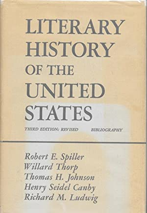 LITERARY HISTORY OF THE UNITED STATES: BIBLIOGRAPHY.