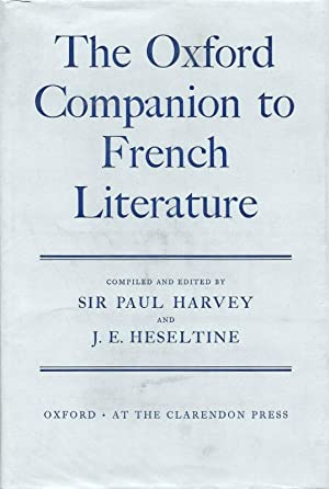 THE OXFORD COMPANION TO FRENCH LITERATURE.