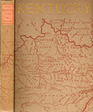 JOHN BRADFORD'S HISTORICAL &c. NOTES ON KENTUCKY FROM THE WESTERN MISCELLANY.: Stipp, G. W...