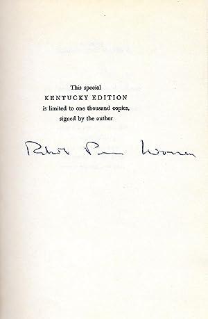 WORLD ENOUGH AND TIME.: Warren, Robert Penn.
