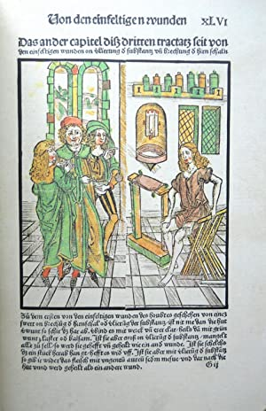 BUCH DER CIRURGIA.: Brunschwig, Hieronymus.