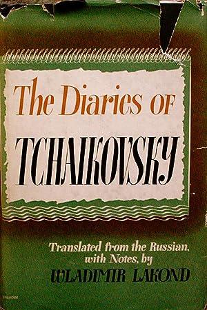 THE DIARIES OF TCHAIKOVSKY.: Lakond, Wladimir.