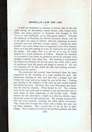 DARNELL'S LEAP FOR LIFE.: Heer, Fred J.