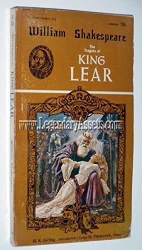 THE TRAGEDY OF KING LEAR: William Shakespeare